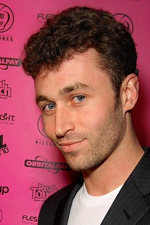 James Deen attending the XBIZ Awards at Avalon...