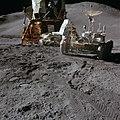James Irwin during the first EVA Apollo 15.jpg