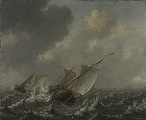 Vessels on a Choppy Sea