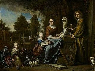 Agnes Block Dutch botanist and art collector