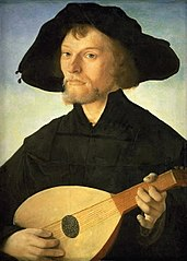 Portrait of a Lute Player