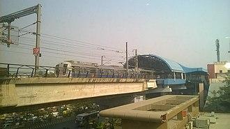Janakpuri West metro station - Image: Janakpuri West Metro Station