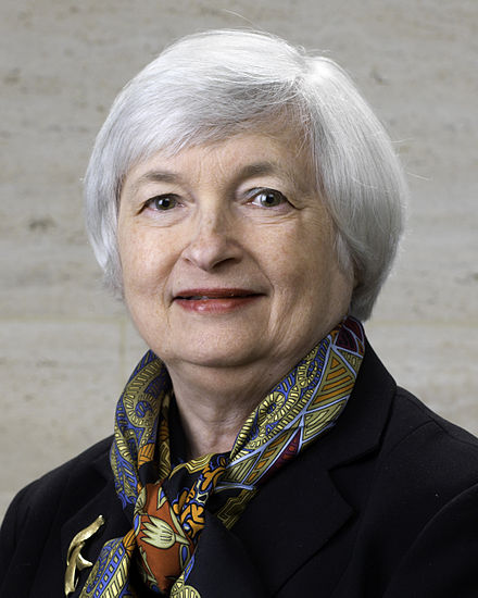 15th Fed Chair, JANET Yellen