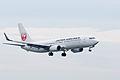 Japan Airlines, B737-800, JA315J (18304211470).jpg