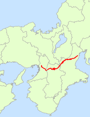 Japan National Route 25 Map.png