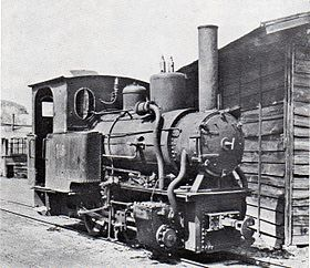 Japanese Govermental Railway Ke145 steam locomotive (Ex Osumi railway).jpg