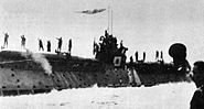 Japanese submarine I-367 in May 1945