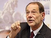 Javier Solana is the EU's High Representative in foreign policy