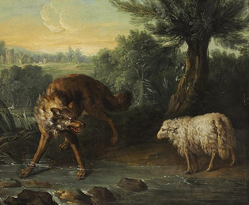 Jean-Baptiste Oudry - Le loup et l'agneau