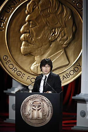 Jungle Fish - Jeonghwan Kim at the 68th Annual Peabody Awards for Jungle Fish