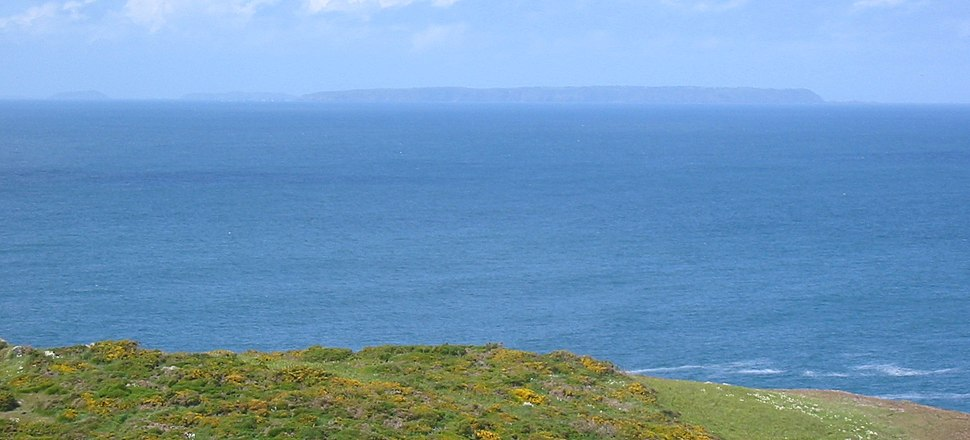 Jethou Herm Sark viewed from Jersey
