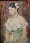 Jeune fille en décolleté, la fleur aux cheveux - Berthe Morisot.jpg
