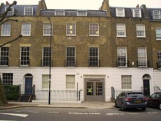 Jewish Museum London - The exterior of the Jewish Museum London, Raymond Burton House.