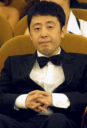 Jia Zhangke - Jia Zhangke at the 2008 Venice Film Festival