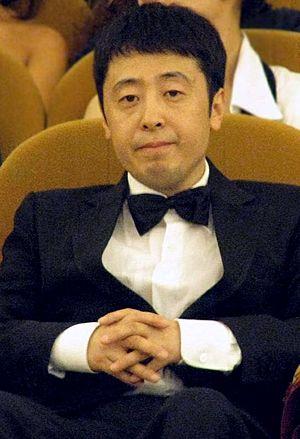 Jia Zhangke - Jia Zhangke at the 2008 Venice Film Festival