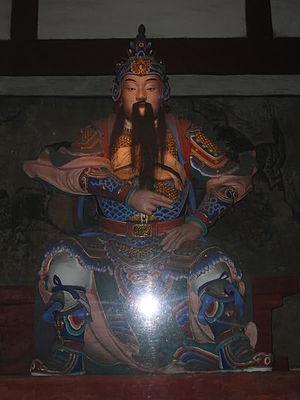 Jiang Wei - A statue of Jiang Wei in Zhuge Liang's temple in Chengdu. It was made in 1672.