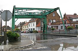 The lifting bridge in Grand-Millebrugghe