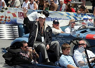 "Indianapolis 500 traditions - Jim Nabors performed ""Back Home Again in Indiana"" before the start of the race nearly every year from 1972 to 2014."
