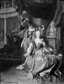 Johann Georg Dathan - Empress Maria Theresa Garlanded by Wisdom - KMS657 - Statens Museum for Kunst.jpg