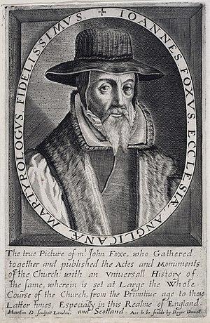 John Foxe - John-Foxe-engraving