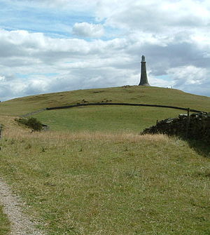 Hoad Monument - The John Barrow Monument, Ulverston.