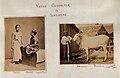 John Edmund Taylor, Native Character in Singapore. Malay Women. Draught Bullock. (1881, Wellcome V0037509).jpg