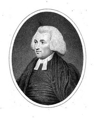 John Eyre (evangelical minister) - John Eyre, 1794 engraving