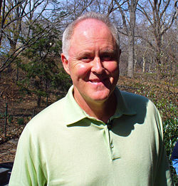 John Lithgow i Central Park 2007.