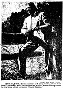 John Oldrin, the author in the Bridgeport Telegram on September 30, 1951.jpg
