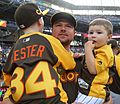Jon Lester and his boys watch the 2016 T-Mobile -HRDerby (28496974871).jpg