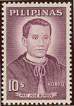 José Burgos 1963 stamp of the Philippines.jpg