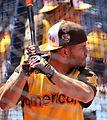 Jose Altuve takes batting practice on Gatorade All-Star Workout Day. (28377676000).jpg