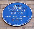 Jose Collins blue plaque Loughton.jpg