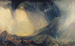 Bufera di neve: Annibale e il suo esercito attraversano le Alpi