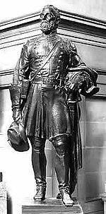 Joseph Wheeler bronze by Berthold Nebel