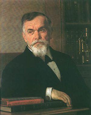 Jovan Žujović - Portrait painted by Uroš Predić