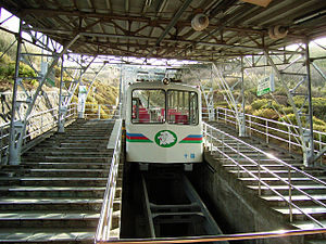 Jukkokutōge Cable Car - Jukkokutōge Cable Car's funicular.