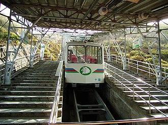 Jukkokutōge Cable Car - Jukkokutōge Cable Car's funicular.