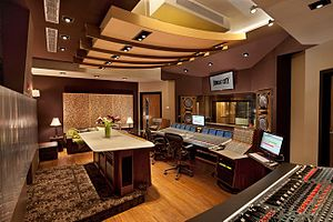 The Pinkprint - Parts of the album were recorded at Jungle City Studios (pictured).