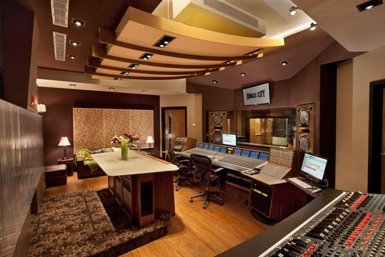 Parts of the album were recorded at Jungle City Studios (pictured). Jungle City Studios.jpeg