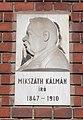 Kálmán Mikszáth by Ede Kallós, 2018 Józsefváros.jpg