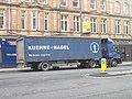 Kühne + Nagel lorry, Duncan Street, Leeds (26th January 2018).jpg