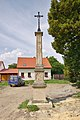 Kříž na křižovatce ulic Jaselská a Prešovská, Vrahovice, Prostějov.jpg