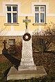 Kříž u silnice na Sulíkov, Rudka, Kunštát, okres Blansko.jpg