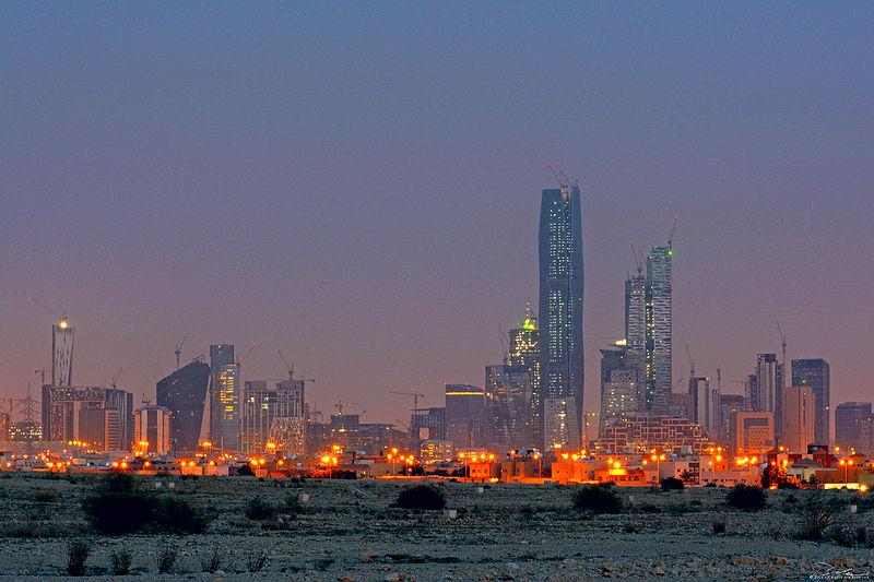 KAFD seen from North east side of Riyadh City.jpg