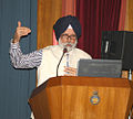 KC Singh, ex-Ambassador to UAE and Iran, delivered the Key Note Address during the seminar on Foreign Cooperation Initiatives of Indian Navy.jpg