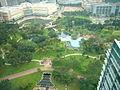 KLCC Park seen from Traders Hotel (Kuala Lumpur).JPG