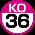 KO-36 station number.png
