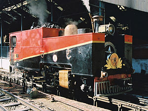 Kalka–Shimla Railway - KSR steam locomotive 520