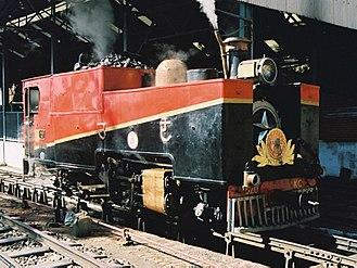 Kalka–Shimla Railway - KSR steam locomotive 520